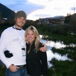 JB and Jen in Telluride, CO at Mountain Film Festival
