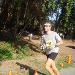 JB running a half marathon in Santa Cruz