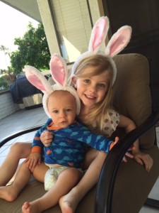 Easter day. My loves.